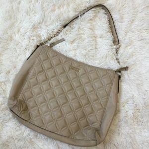 Kate Spade Nude Quilted Tote Purse